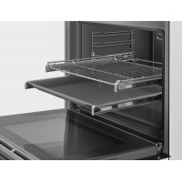 Bosch Serie 4 60cm Electric Built-In Oven 71 Litres Black Stainless Steel Finish HBA534ES0A