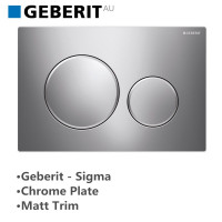 Geberit Toilet Cistern Push Plate Wall Button C..