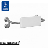 Assist Back Rest Polished Stainless Steel 304 Tubular Frame Soft Polyurethane Cushion