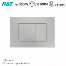 R&T Toilet Button for In-wall Concealed Cistern Chrome Surface G3005008