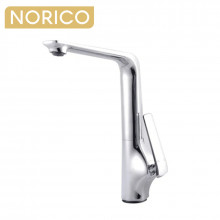 Norico Esperia Chrome Solid Brass Tall Sink Mixer Tap for kitchen