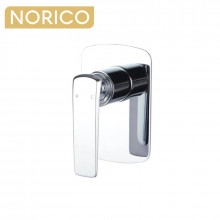 Norico Esperia Chrome Solid Brass Wall Mounted Mixer for shower and bathtub