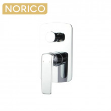 Norico Esperia Chrome Solid Brass Wall Mounted Mixer with Diverter for shower and bathtub