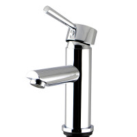 Euro Round Solid Brass Chrome Basin Mixer Tap Vanity Tap