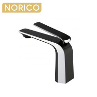 Norico Esperia Chrome & Matt Black Solid Brass Mixer Tap for basins