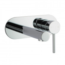 Euro Round Chrome Bathtub Spout Wall Mixer With Spout Water Spout