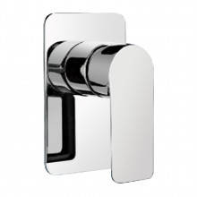 Chrome Solid Brass Wall Mounted Mixer for Shower and Bath