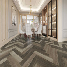 Hybrid Flooring Herringbone Windsor Luxury Surface 9mm Thickness for Indoor Usage 16 pieces per box