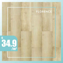 Hybrid Flooring 6mm Thickness Florence Surface for Indoor Usage 6 pieces per box