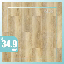 Hybrid Flooring 6mm Thickness Oslo Surface for Indoor Usage 6 pieces per box