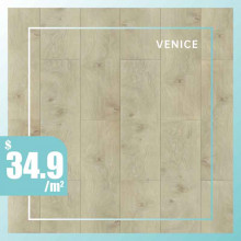 Hybrid Flooring 6mm Thickness Venice Surface for Indoor Usage 6 pieces per box