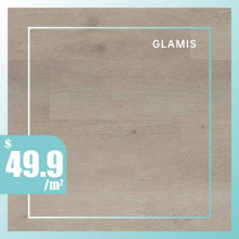 Hybrid Flooring Glamis Premium Surface 9mm Thickness for Indoor Usage 5 pieces per box