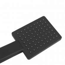 Black Square Hand held Shower Only