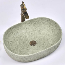 580x400x150mm Oval Porcelain Above Counter Basin