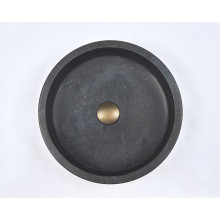 400x400x120mm Round Above Counter Basin Nature Stone
