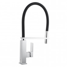 Ottimo 360° Swivel Chrome Kitchen Sink Mixer Tap Hot & Cold Tap