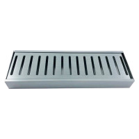 300-3900mm Lauxes Aluminium Shower Grate Drain Any Size Indoor Outdoor