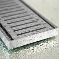 300-3000mm Lauxes Shower Grate Drain Aluminium Next Generation 14 Any Size Indoor Outdoor