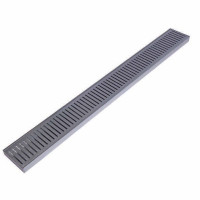 300-3900mm Lauxes Aluminium Standard Shower Grate Drain Any Size Indoor Outdoor