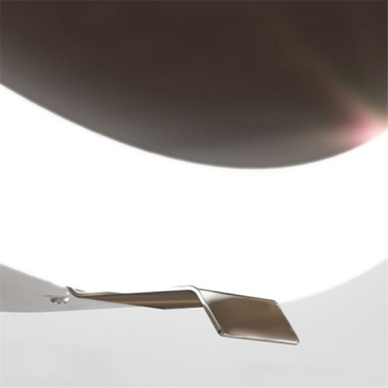 700mm LED Mirror Round Bathroom Chrome Frame Pull out