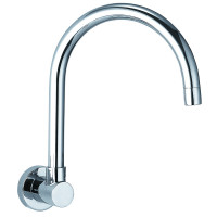 Swivel Wall Spout Water Spout Chrome