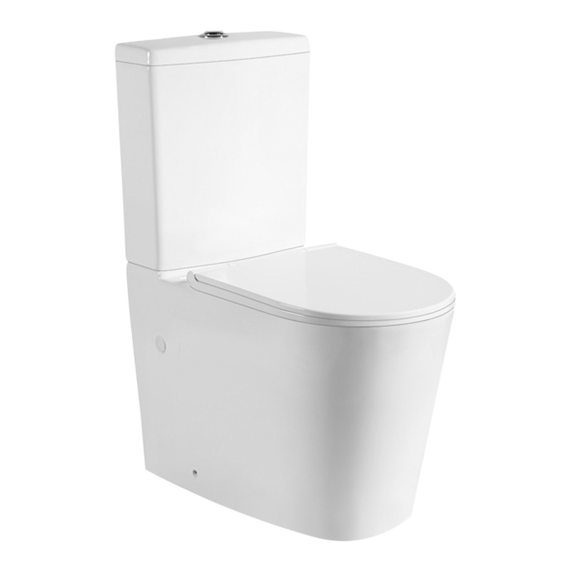 Livis Rimless Flushing Wall Faced Toilet Suite CE-KDK022