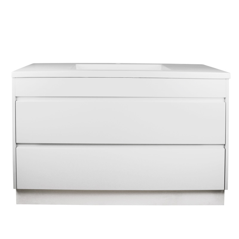 1200mm Matt White Bathroom Vanity Kickboard
