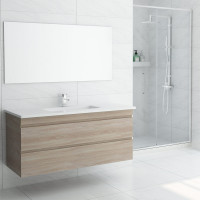 1200mm Wall Hung Bathroom Vanity 2 Drawers Cabinet Only
