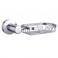 Euro Pin Lever Chrome Soap Holder Zinc Wall Mounted