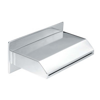 Yale Brass Chrome Waterfall Bath/Basin Wall Spout Water Spout Trapezium