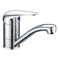 Ruby Solid Brass Chrome 360° Swivel Basin Mixer Vanity Tap