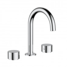 Tana Chrome Solid Brass Tap Set with 360 Swivel for basin