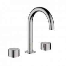 Tana Brushed Nickel Solid Brass Tap Set with 360 Swivel for basin