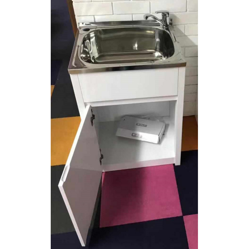 45L Stainless Steel Freestanding Laundry Sink