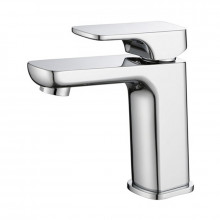 Eden Solid Brass Chrome Surface Basin Mixer Tap for Vanity