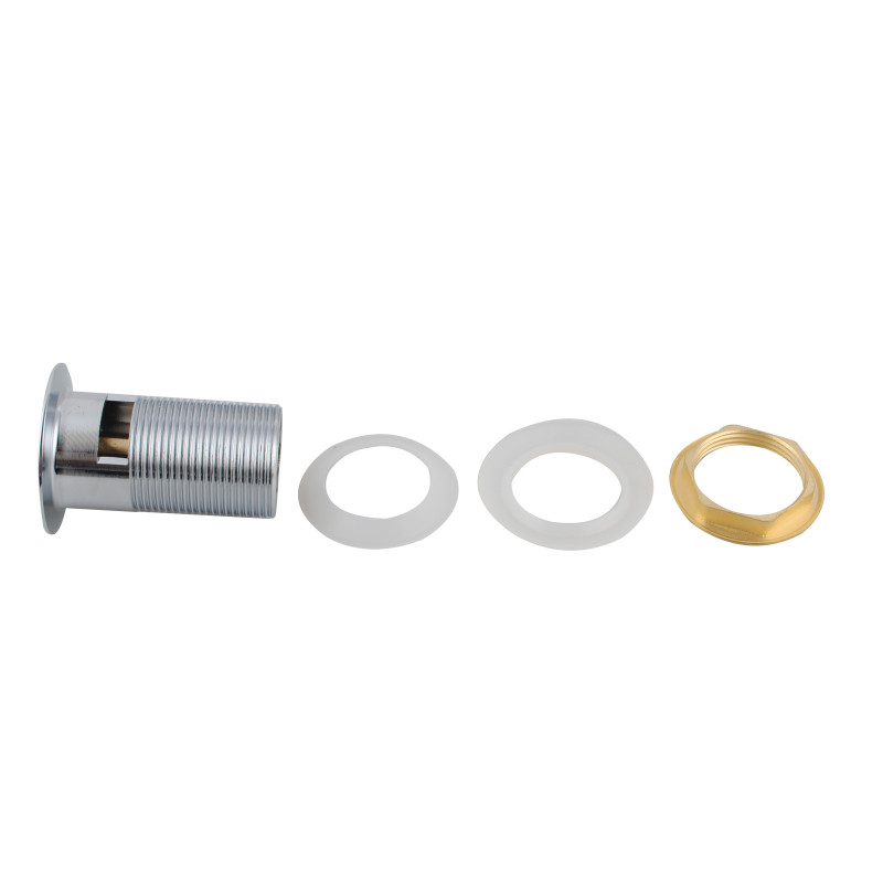 32/40mm Brass Pop Up Waste with Overflow Chrome PUS001