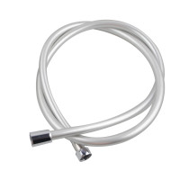 1500mm Silver PVC Shower Hose 1.5m