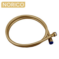 Norico 1500mm Brushed Yellow Gold PVC Shower Hose