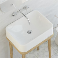 545x415x130mm SeeRose Above Counter Basin White..
