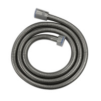1500mm Brushed Nickel Flexible Shower Hose Stainless Steel