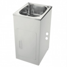 455x555x925mm 35L Stainless Steel Laundry Tub Cabinet Freestanding