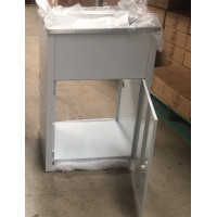 600x500x925mm 45L Stainless Steel Laundry Tub Cabinet Freestanding