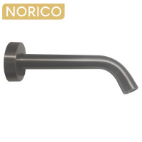 Norico Round Gunmetal Grey Bathtub Basin Spout Wall Spout Water Spout