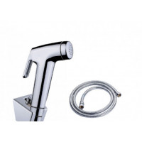 Round Toilet Bidet Spray Kit with 1.2m Stainless Steel Water Hose