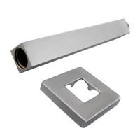 600mm Square Brushed Nickel Ceiling Shower Arm Stainless Steel 304