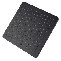 200mm 8'' ABS Square Black Rainfall Shower Head