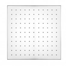 """300mm 12"""" Square Chrome Rainfall Shower Head Solid Brass & Stainless Steel"""
