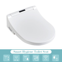 508x381x151mm Electric Intelligent Toilet Cover Seat with Self Hygiene and Instant Heating for toilet