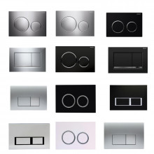 Toilet Cistern Plates Wall Buttons Square RoundBUTTONS