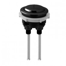 Black Round Dual Flush Toilet Water Tank Press Button for ABOUT 46mm Cistern Lid Hole